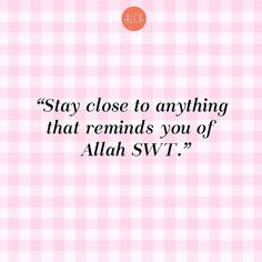 It's okay to keep your circle small, as long as they remind you to Allah SWT.   #Alca