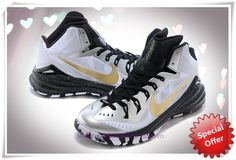 super popular 654e8 687fb Mens 653640-071 Nike Hyperdunk 2014 White   Black   Gold For Black Friday  Baskets
