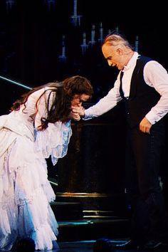 Sierra Boggess & Ramin Karimloo. Phantom of the Opera 25th Anniversary