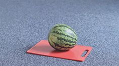 The surprising moment when we all simultaneously realized we've always wanted to see someone pick up a watermelon with a plunger: | The 28 Most Satisfying Things That Have Ever Happened