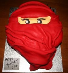 Ninja Birthday Cake                                                                                                                                                                                 More