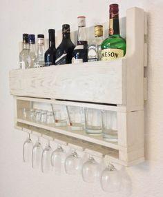 Wine rack wine rack from wood wine rack for wall reclaimed Wood Wine Racks, Wine Rack Wall, Wood Pallet Bar, Wood Pallets, Bar Counter Design, Diy Furniture Decor, Home Bar Decor, Cigar Bar, Glass Rack