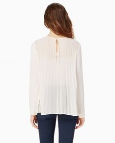 Pintuck Pleated Blouse