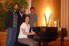 The Goldberg Variations team: Robert Douglass, Werner Schweer, Thomas Bonte, Kimiko Ishizaka.