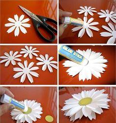 ทำดอกไม้