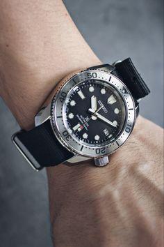 Stainless Steel Bracelet, Stainless Steel Case, Seiko Diver, Diving Equipment, 200m, Black Babies, Timeless Design, Omega Watch, Scuba Gear