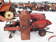 Massey Ferguson 50 tractor salvaged for used parts. This unit is available at All States Ag Parts in Black Creek, WI. Call 877-530-2010 parts. Unit ID#: EQ-23851. The photo depicts the equipment in the condition it arrived at our salvage yard. Parts shown may or may not still be available. http://www.TractorPartsASAP.com