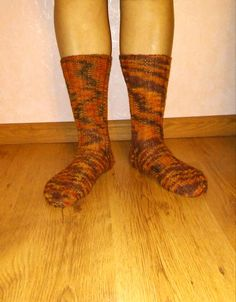 Womens handmade knitted socks. Knitted with special by Ramzijashop