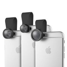 ROCK Clip Extended Fish-eye Wide-angle Macro Detachable Lens Camera for Samsung iPhone XiaoMi