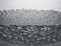 Clear Tile Bowl - Thaddeus Wolfe