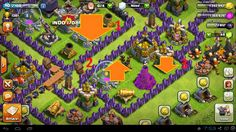 best map town hall 9 clash of clans
