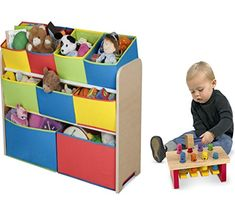 Combo of Cute Fun and Exciting Multi-color Deluxe Storage Toy Box Containers Chest Organizer Bins and Melissa & Doug Deluxe Pounding Bench for Kids Pet Toys, Cars, Books, Magazines and Accessories - Children Home Box Units Solutions Toy Storage Boxes, Toy Boxes, Bookshelves Kids, Book Shelves, Organizer Bins, Container Organization, Melissa & Doug, Kids House, Animals For Kids