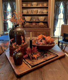 Prim Decor, Country Decor, Rustic Decor, Primitive Decor, Fall Home Decor, Autumn Home, Chinoiserie, Windsor, Moldes Halloween