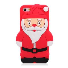 Shenzhen Jewelives----top ten silicone manufacturer Cute Santa Claus iPhone Soft Silicone Case Cover for iPhone 5 - Christmas Series iPhone Cases - iPhone Cases Http://www.globalsources.com/jewelives.co Kristy.yang@jlssilicone.com