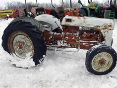 Ford 8N tractor salvaged for used parts. This unit is available at All States Ag Parts in Black Creek, WI. Call 877-530-2010 parts. Unit ID#: EQ-25416. The photo depicts the equipment in the condition it arrived at our salvage yard. Parts shown may or may not still be available. http://www.TractorPartsASAP.com