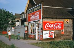 Bogner's Grocery 2, Vancouver, 1960  by Fred Herzog