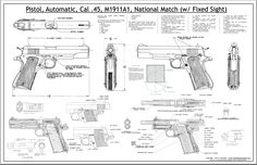 1911 cutaway drawing - Google Search