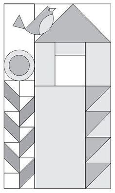 Moda Be My Neighbor Free Quilt Pattern Block Block 13