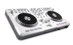 Numark Mixtrack Pro DJ Controller. Awesome gadget - this is the white limited edition..