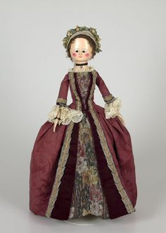 18th century-style doll
