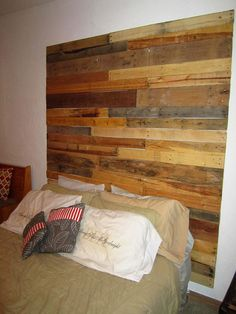 Shop for on Etsy, the place to express your creativity through the buying and selling of handmade and vintage goods. Decor, Furniture, Home Goods, Home Accessories, Wood Headboard, Reclaimed Wood Headboard, Reclaimed Wood, Home Decor, Home Projects