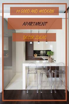 70 GOOD AND MODERN APARTMENT DECOR IDEAS YOU WILL TOTALLY LOVE #modernapartmentdecorideas Modern Apartment Decor, Small Apartments, Decor Ideas, Furniture, Design, Home Decor, Decoration Home, Small Flats, Room Decor