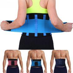 602d8c61ee New Promotion sport accessories Back Support Brace Belt Lumbar Lower Waist  Double Adjust Back Pain Relief