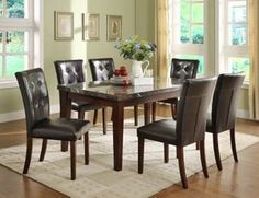 Homelegance 2456S Side Chair Upholstered, Set of 2