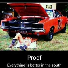 Every thing is better in the south