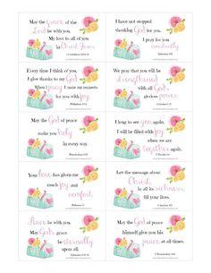 Free Printable Encouragement Cards