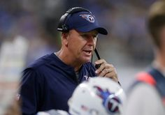 Tennessee Titans head coach Mike Mularkey watches from the sidelines during the first half of an NFL football game against the Detroit Lions, Sunday, Sept. 18, 2016, in Detroit. (AP Photo/Duane Burleson)