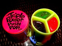 Triple Power Push Pop