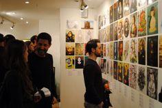 Gioconda Project Exhibition - W3 gallery London Mona Lisa, Photo Wall, London, Gallery, Photograph