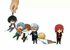 Armin, Alexy, Ken, Lysandro, Nathaniel y Castiel  ~ Corazón de melón (CDM)