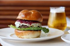 Freud, From the Edi & the Wolf Team, Serves Up Austrian Mountain Cheese, Pork Neck, and Spaetzle: Freud Burger with farmhouse cheddar, onion jam, and crispy fennel.