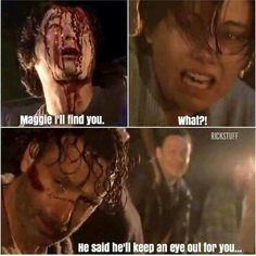 This scene was sad but this was funny I get it Walking Dead Funny, Walking Dead Season, Fear The Walking Dead, Twd Memes, Into The Badlands, Carl Grimes, Stuff And Thangs, The Day Will Come, Funny Me