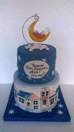 Fairy moon - Cake by BULGARIcAkes