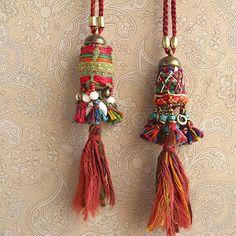 Fringed necklace of PHO (circle) - Risi e bisi of Asian clothing and Asian goods (Rijebiji)