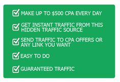 $500 CPA Every Day
