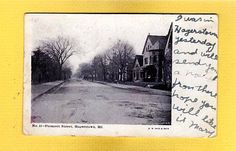 Hagerstown, MD Maryland, Prospect Street, used 1905