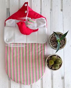 Sleeping bag for newborn AutumnSpring Swaddle by OrigamicoWorkshop