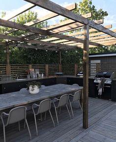 Outdoor Rooms, Outdoor Dining, Outdoor Gardens, Outdoor Decor, Pergola Patio, Backyard Landscaping, Gazebos, Garden Deco, Outdoor Kitchen Design