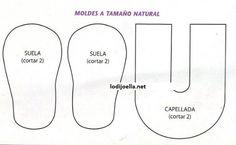 LAS MANUALIDADES DE CLAUDIA (TODO SACADO DE LA WEB): ZAPATITOS EN ...