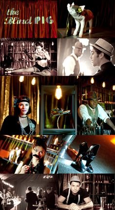 speakeasy-styled, private party