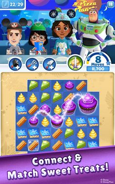 Disney Dream Treats v2.4.2 [Mod] Apk Mod  Data http://www.faridgames.tk/2017/06/disney-dream-treats-v242-mod-apk-mod.html