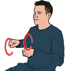 Bicycle/Bike - Both closed fists facing downwards make alternating forward circles in front of body (with or without index fingers extended). British Sign Language (BSL)