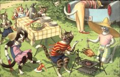 Mainzer Cats: Picnic
