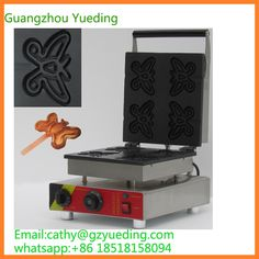 230.00$  Buy here - http://alit2w.shopchina.info/1/go.php?t=32818059776 - Wholesale China Supplier Non-stick butterfly shape waffle making machine  #aliexpress