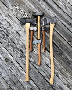 Collection of Axes and Hatchets from Appalachian Axe Works.