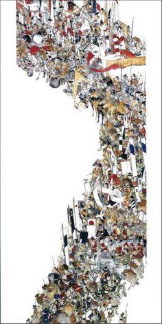 山口晃 長型はがき 〈全9種〉 | 日本美術品 京都 便利堂 【老舗モール】